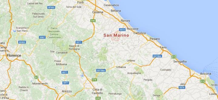 San Marino-maps