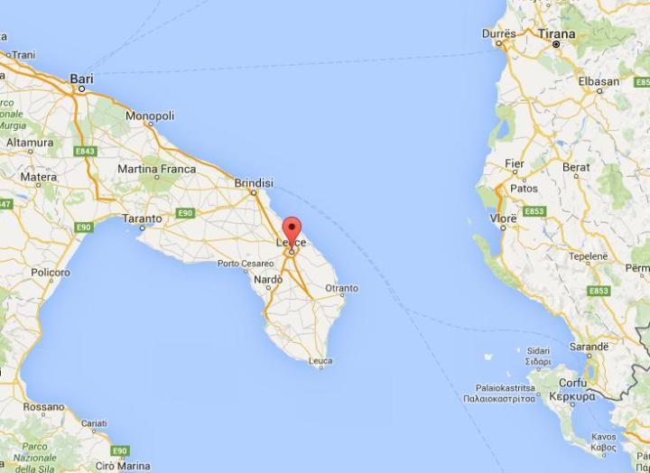 Lecce maps