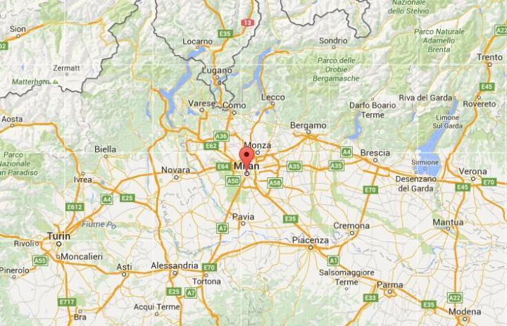 Milan maps