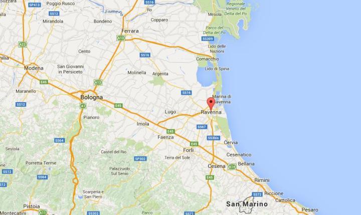 Ravenna maps