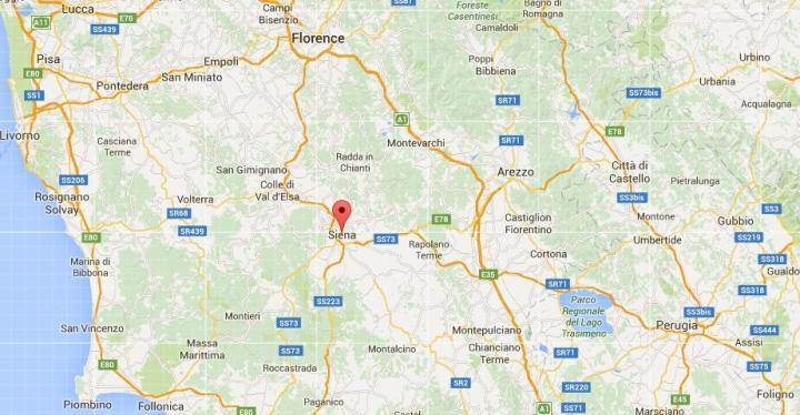 Siena maps