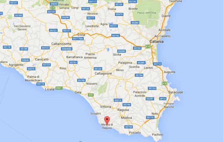 Marina di Ragusa maps