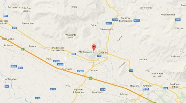 Montecassino maps