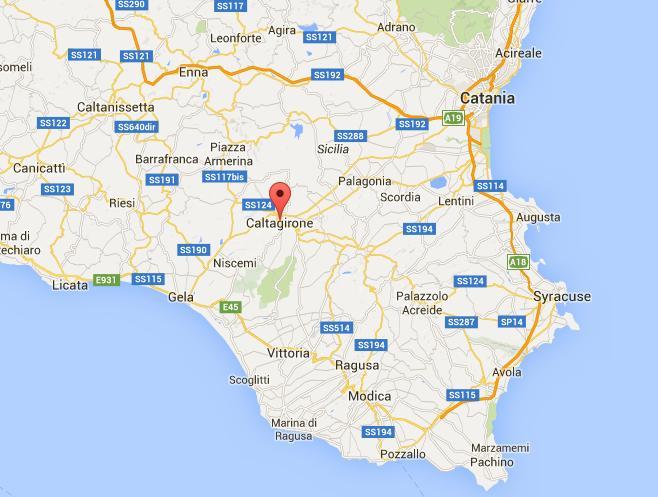 Caltagirone maps